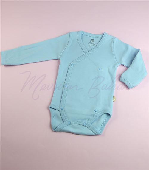 Bi Baby Bebek Body Mavi