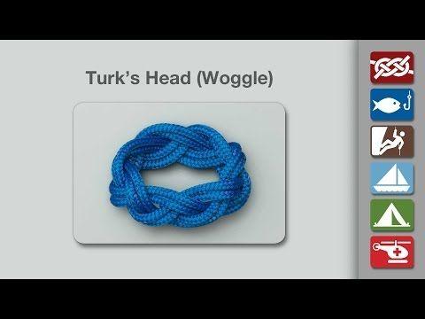 Turk's Head   How to tie a Turk's Head   Decorative Knots