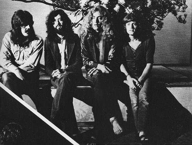 Led Zeppelin Robert with the ankle bracelet