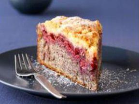 Mohn-Kirsch-Kuchen