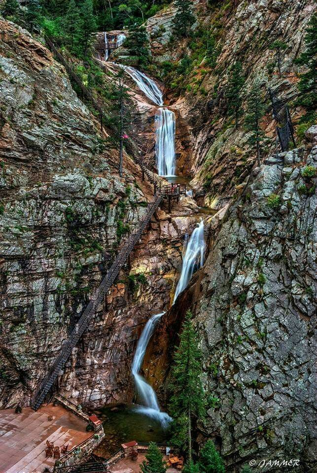 Seven Falls Colorado Springs, Colorado. A beautiful shot by James Martinez