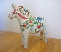 scandinavian painted horse
