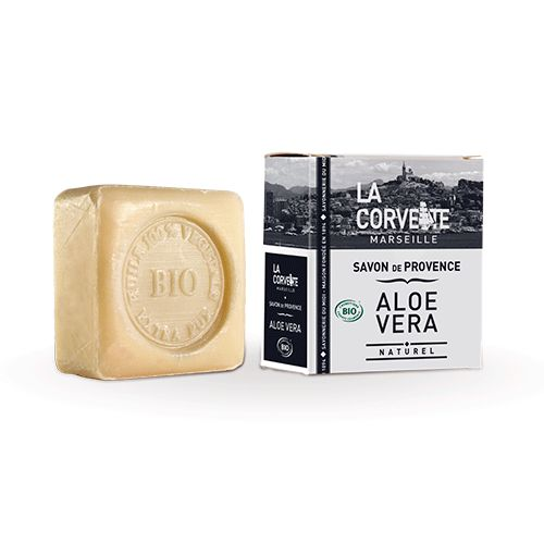 Pastilla de jabón Bio de Aloe Vera ( La corvette )