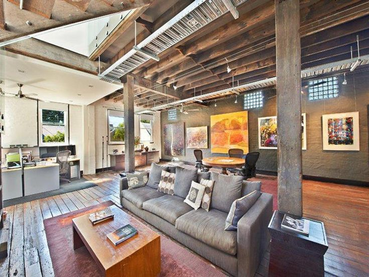 27 best warehouse living images on pinterest warehouse for Converting a pole barn into living space