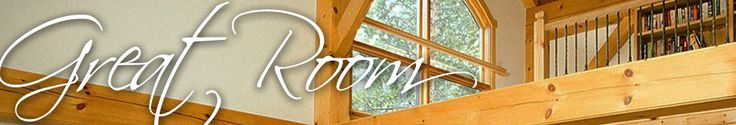 """Great Room Series   Timber Frame House Plans   Woodhouse Timber Frame Company """"The Wakefield"""""""