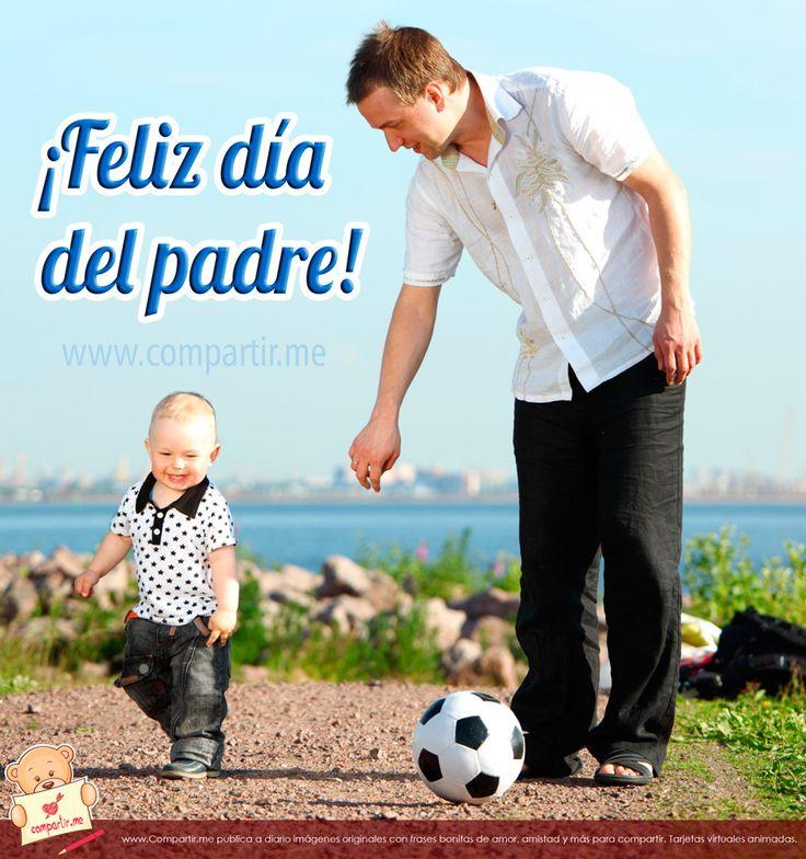 Feliz dia del Padre a todos, y en especial al mío: Manuel Calderín!!!   ;)