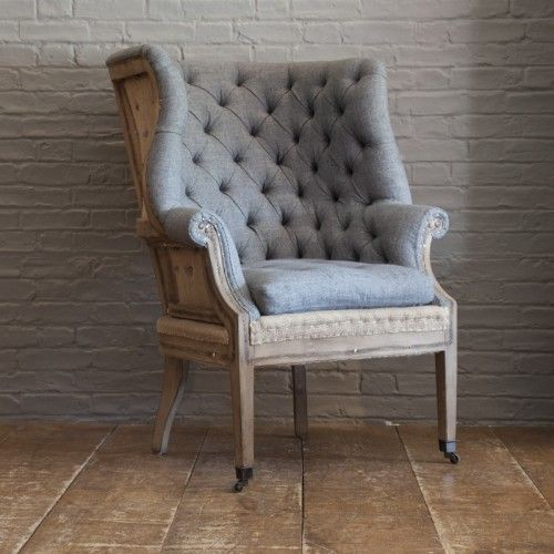 Van Thiel U0026 Co Deconstructed Fireside Wing Chair Homes Of Elegance Amazing Pictures
