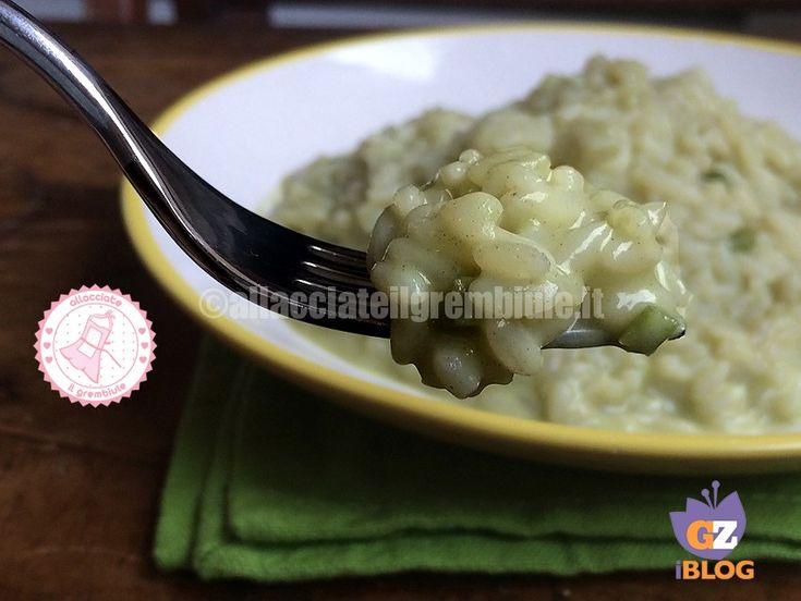 il riso con asparagi è un piatto molto delicato e adatto da preparare per eventuali ospiti, facile e veloce ricetta senza burro.