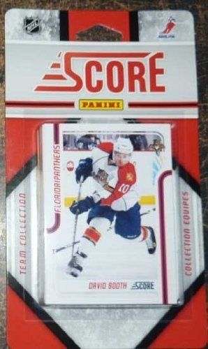 2011 / 2012 Florida Panthers Score Hockey Factory Sealed Team Set Including Stephen Weiss, David Booth, Michal Repik, Evgeny Dadonov, Jack Skille, Kris Versteeg, Ed Jovanovski, Brian Campbell, Jacob Markstrom Plus Rookie Cards of Scott Timmons and Hugh Jessiman and More. by SCORE. $6.00. 2011 / 2012 Florida Panthers Score factory sealed 17 card team set. Players included are Stephen Weiss, David Booth, Michal Repik, Evgeny Dadonov, Jack Skille, Tomas Fleischmann...