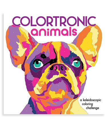 Colortronic Animals Coloring Book Zulilyfinds