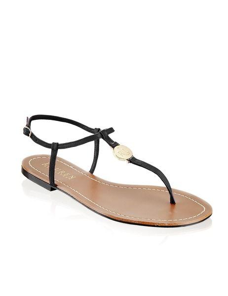 Lauren Ralph Lauren Aimon - black sandal.