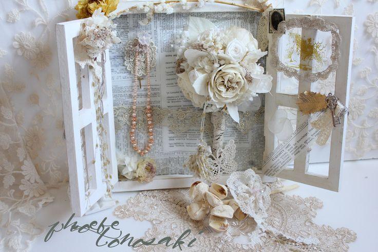 My preserved flower work