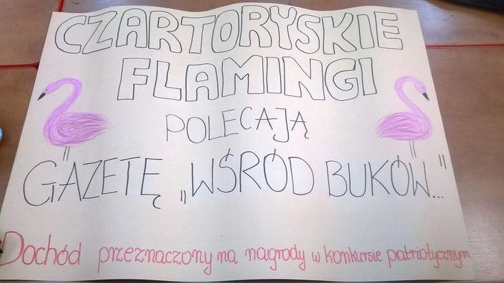 """Blog """"Czartoryskie Flamingi"""" z Gimnazjum w Osiecku"""