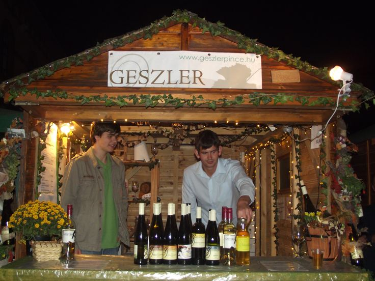 Legkedvencebb bornapunk a Móri Bornapok, a faházban Geszler Máté és Geszler Tamás, akit nővérük Geszler Anikó örökített meg :-)