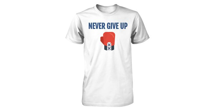 Never Give Up!!!  All Proceeds Goes To Our Local Homeless Shelter!!!  Satisfaction Guaruanteed!!!