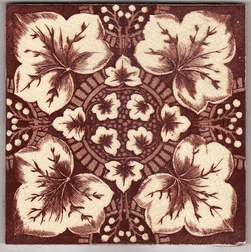 Victorian Antique Ceramic Tile Victorian Tiles