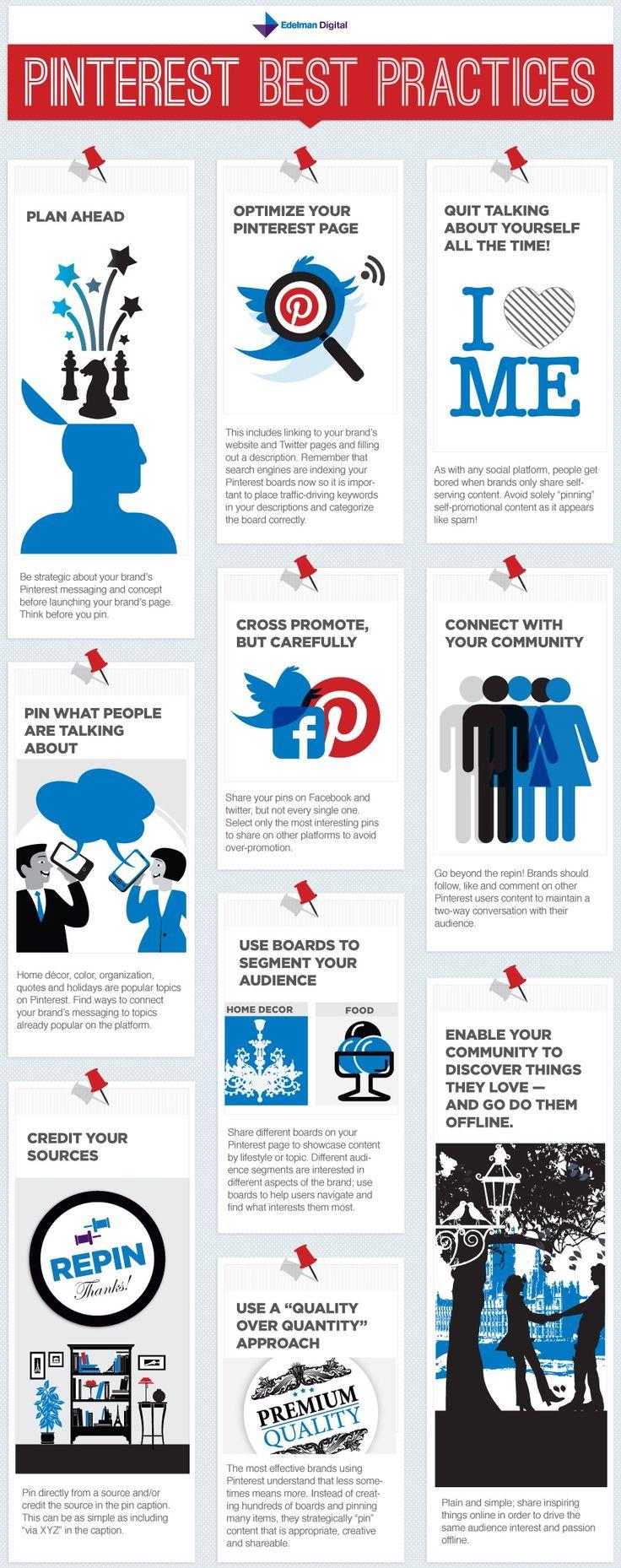 Pinterest, tips, best practices, infographic, insight, #pinterest