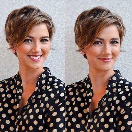 Trendy Hairstyles Wavy Short Hairstyles 54+ Ideas - #dresses # Ideas #Short Hairstyles #Drinky #Wave -