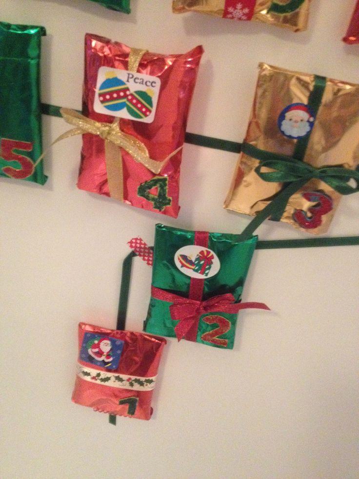 First advent calendar for Pou // Christmas 2013