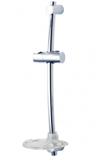 Shower Riser Rail - Alfie - Chrome
