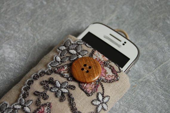 Custodia cellulare fiori e farfalle - phone cover butterflies and flowers