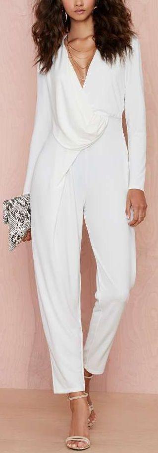 On the right kinda day, ♡♡♡♡♡swipe right drape jumpsuit
