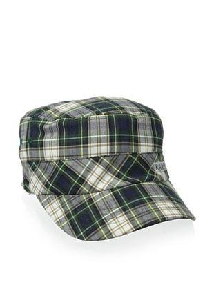 47% OFF Kangol Men's Plaid Army Cap (Linen Plaid)