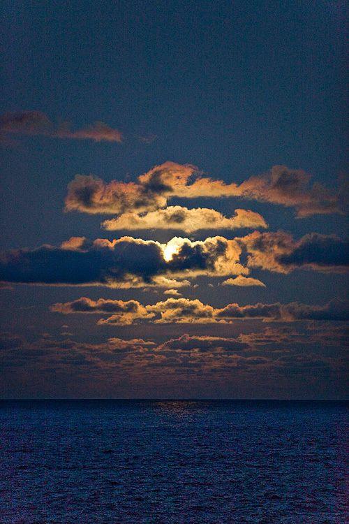 Moonrise at Hana, Maui