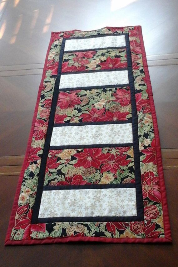 51 best christmas table runners images on pinterest christmas table runners christmas ideas. Black Bedroom Furniture Sets. Home Design Ideas