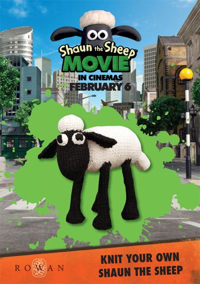 Free Shaun the Sheep Pattern Rowan Yarns English Yarns Online Knitting St...