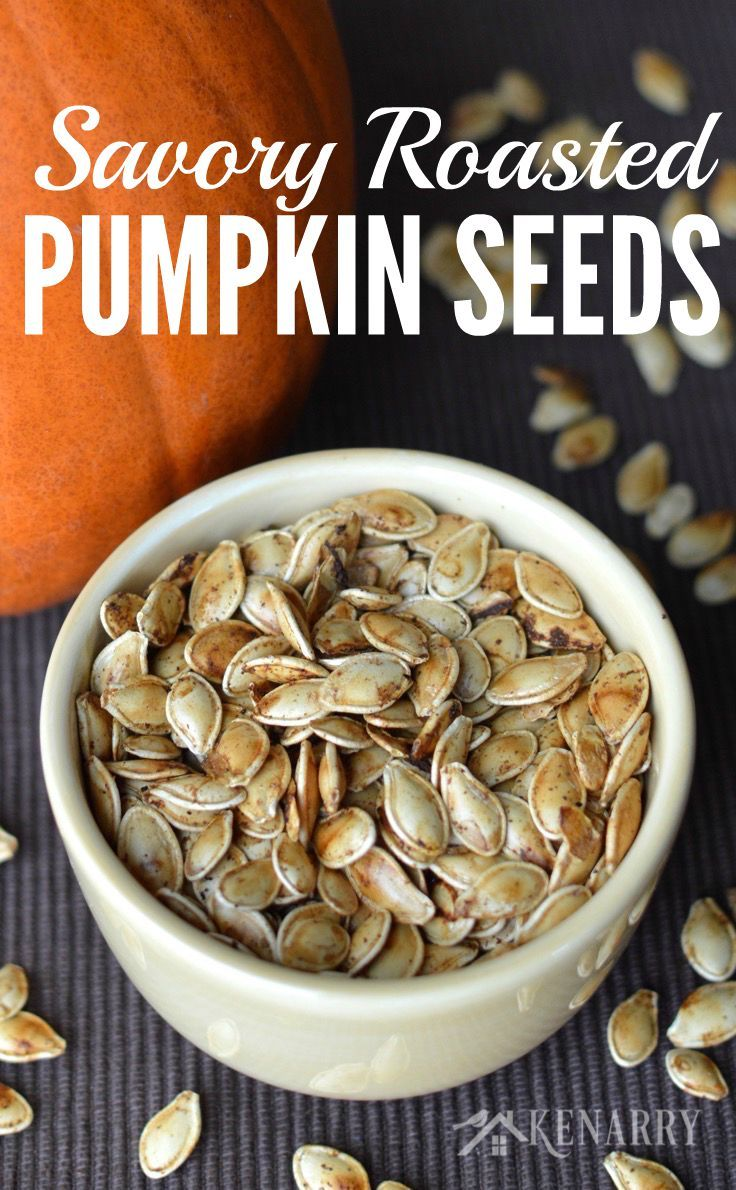 I've always wanted to know how to roast pumpkin seeds! I can't wait to try this savory recipe idea with my family after we carve pumpkins for Halloween this fall.