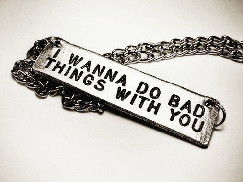 Bad Things Jewelry.