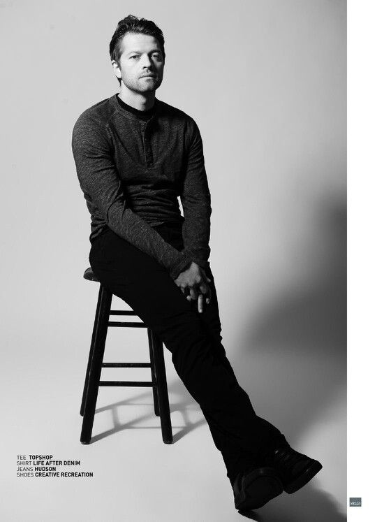 Misha Collins Bello magazine