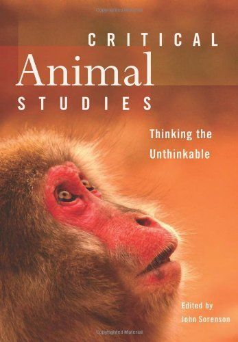 Critical Animal Studies: Thinking the Unthinkable by John Sorenson (include chapters by Rob Laidlaw and Lesli Bisgould) http://www.amazon.ca/dp/1551305631/ref=cm_sw_r_pi_dp_667Etb08VVRC6