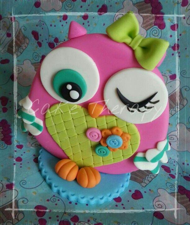 Fondant owl
