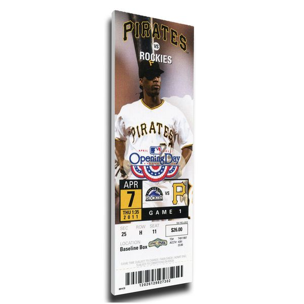 Andrew McCutchen Pittsburgh Pirates 2011 Opening Day Mega Ticket - $79.99