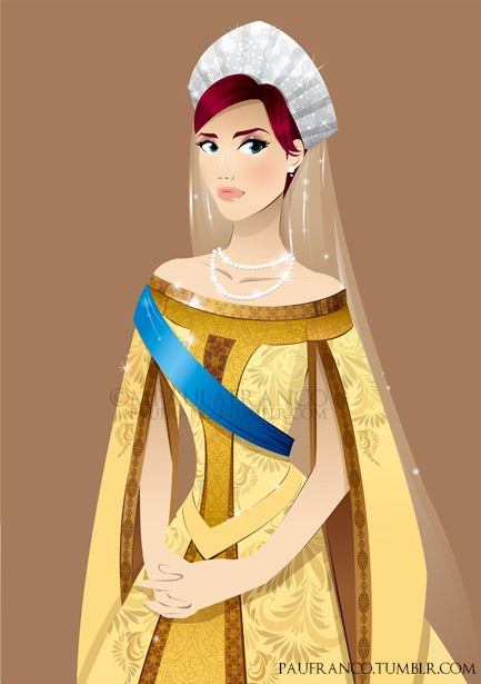 Anastasia by ~paufranco on deviantART. Not technically Disney but lovely nonetheless!