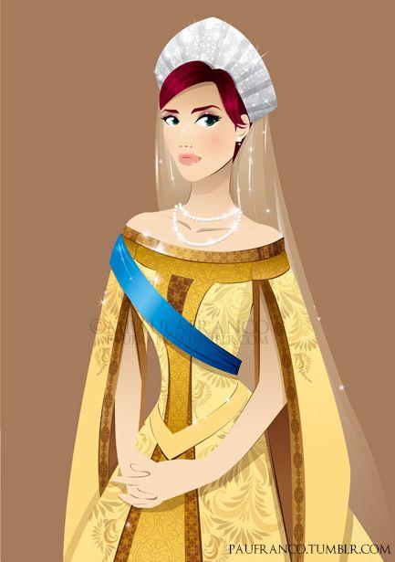 Anastasia by ~paufranco on deviantART. Not technically Disney but lovely nonetheless!
