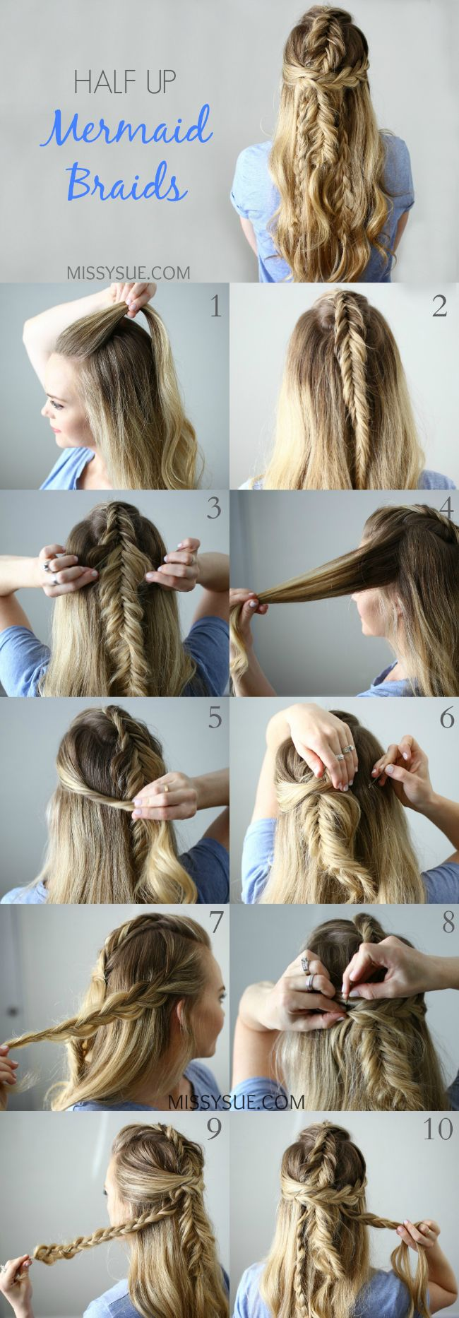 Hairstyle Tutorials Classy 389 Best Hair Romance Tutorials Images On Pinterest  Easy Hairstyle