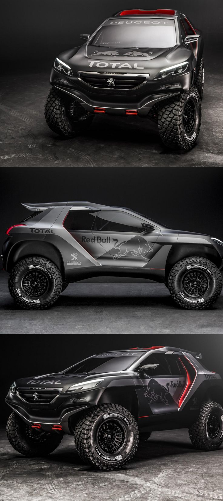 Now THAT looks fun!!!!!!!!! Peugeot 2008 DKR