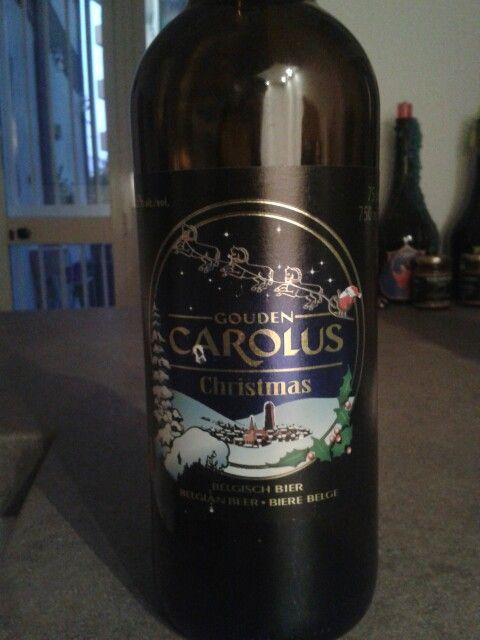 Gouden Carolus Christmas, Het Anker, christmas belgian ale, Belgium