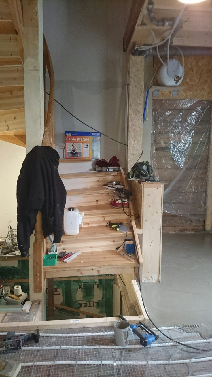 bygge ny trapp