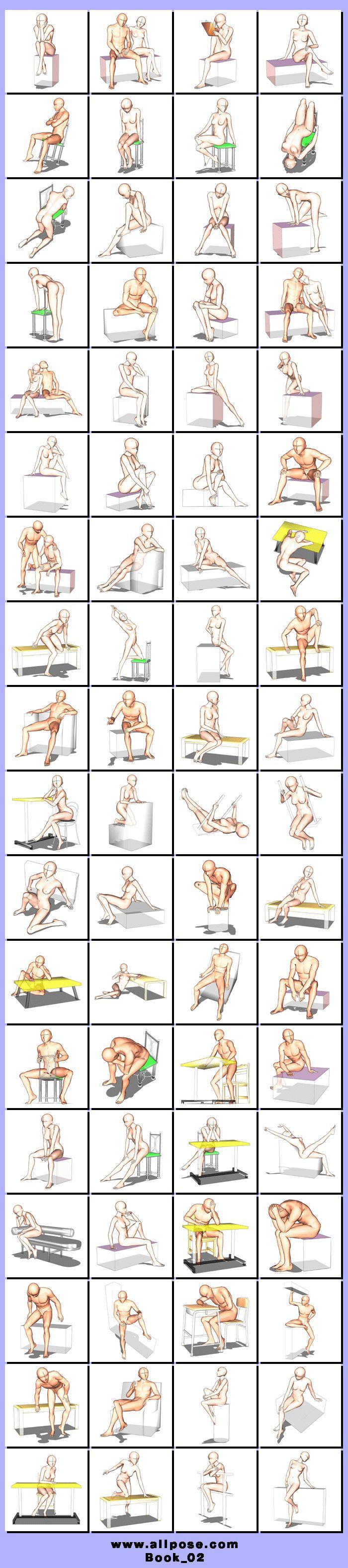 #Poses Chair http://allpose.com