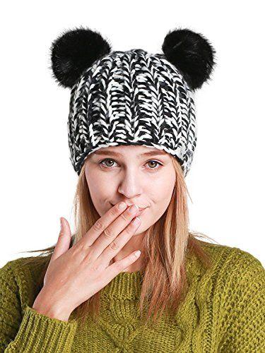 New PERSUN Women Cute Knit Beanie Cap Winter Hats. Women Hats   12.99 -  27.99 offerdressforyou 866f515ab7a