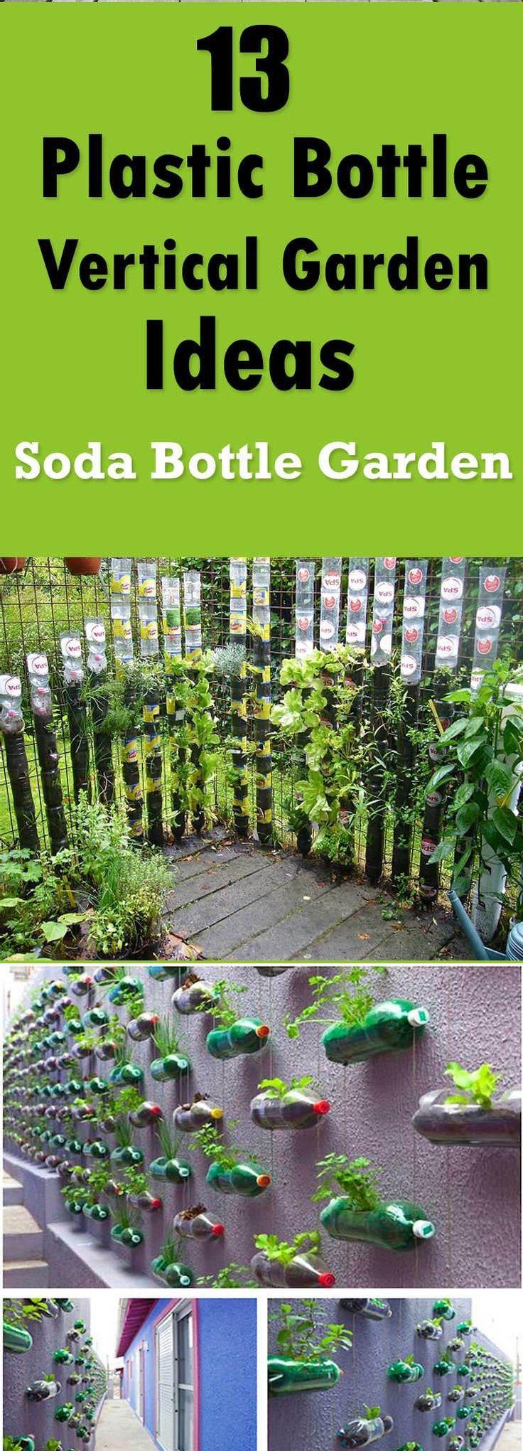 25 best ideas about bottle garden on pinterest - Plastic bottle vertical garden ideas ...