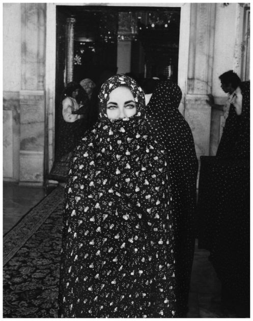 Untitled, from the series Elizabeth Taylor in Iran   LACMA Collections