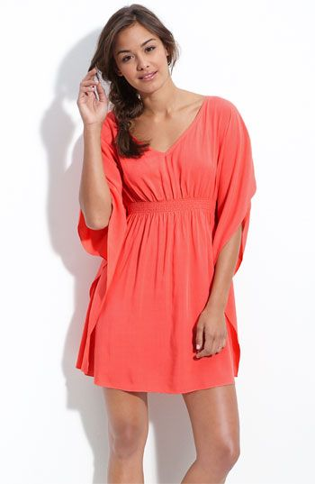 #11- Coral empire-waist: I really like this dress. I especially like the neckline.  Some days I like empire waists to hide my bloated tummy  I would want the sleeves to be shorter, but I like how they are different than ordinary sleeves.