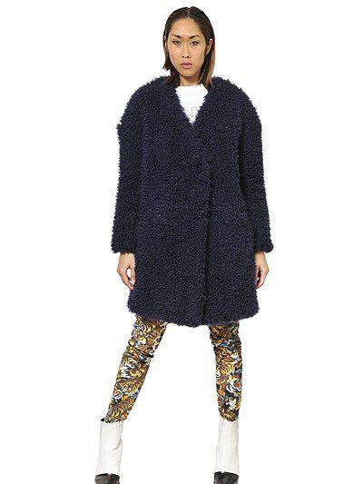 Fur: Kenzo Faux Fur Coat ($836)