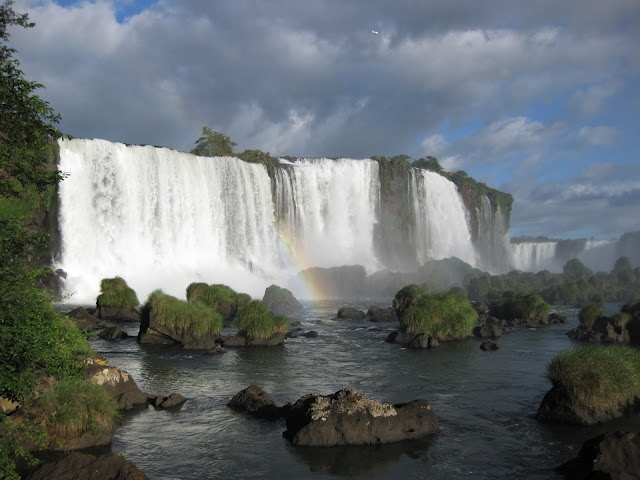 Les incroyables chutes d'Iguazu, Brésil