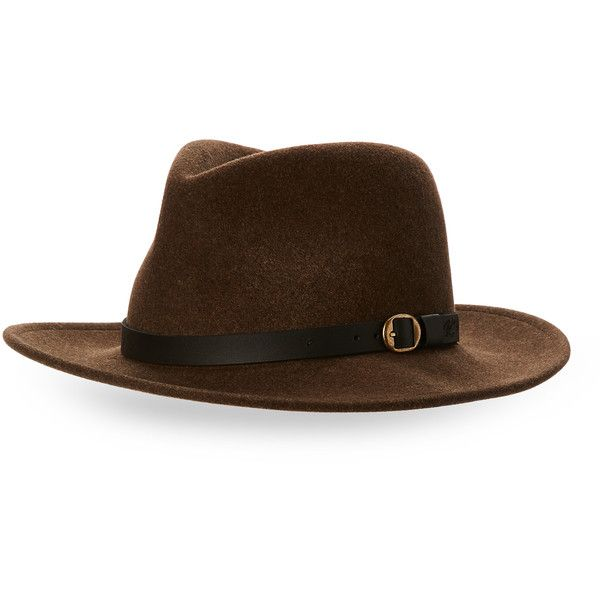 Bailey Wool Felt Fedora ($30) ❤ liked on Polyvore featuring men's fashion, men's accessories, men's hats, green, mens fedora hats, mens felt hat, mens wool hats, mens wool felt hats and mens wool felt fedora hats